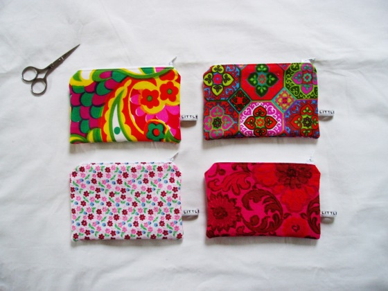 Matchbox Studios April 2013 - selection of Zip Wallets